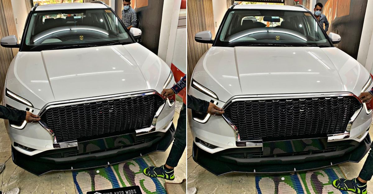 2020 Hyundai Creta SUV Audi-style RS ग्रिल के साथ: चित्र और विवरण