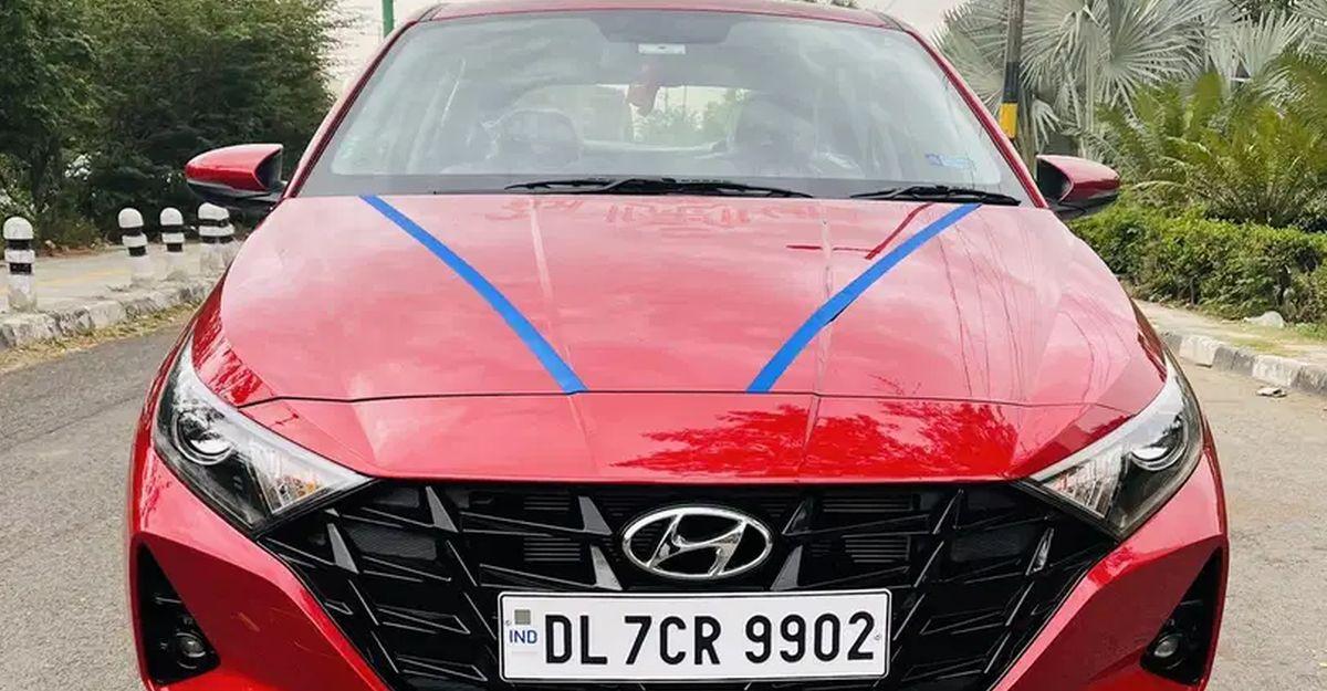 लगभग नई 2021 Hyundai i20 प्रीमियम हैचबैक बिक्री के लिए