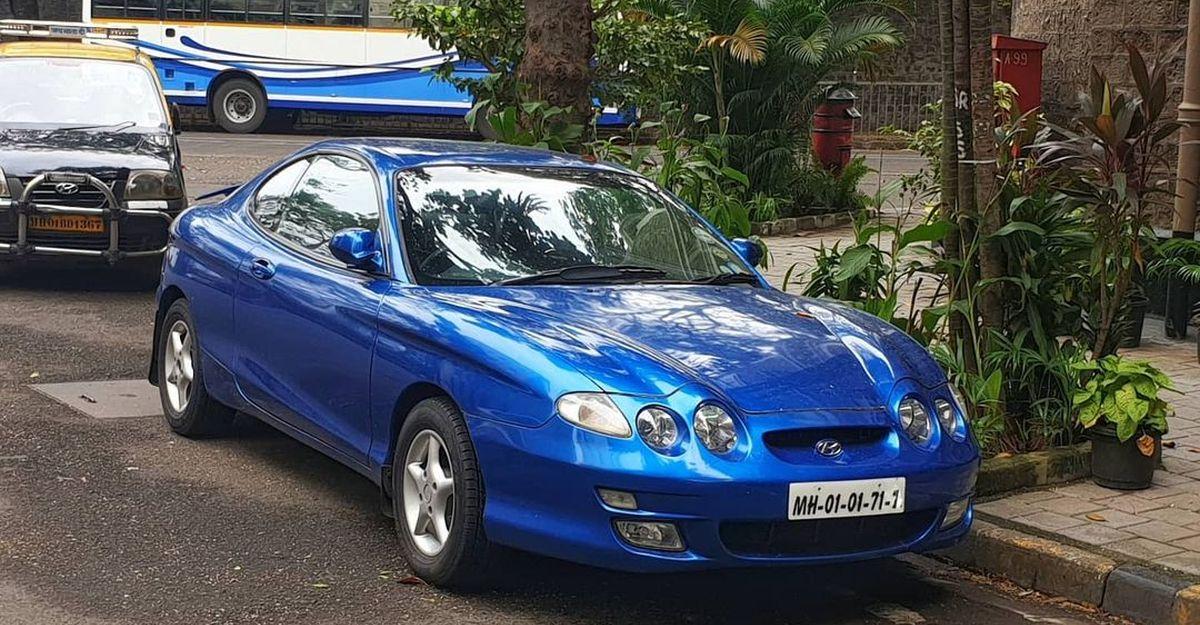 मुंबई में स्पॉट किया गया यह सुपर दुर्लभ स्पोर्ट्सकार एक Hyundai है!