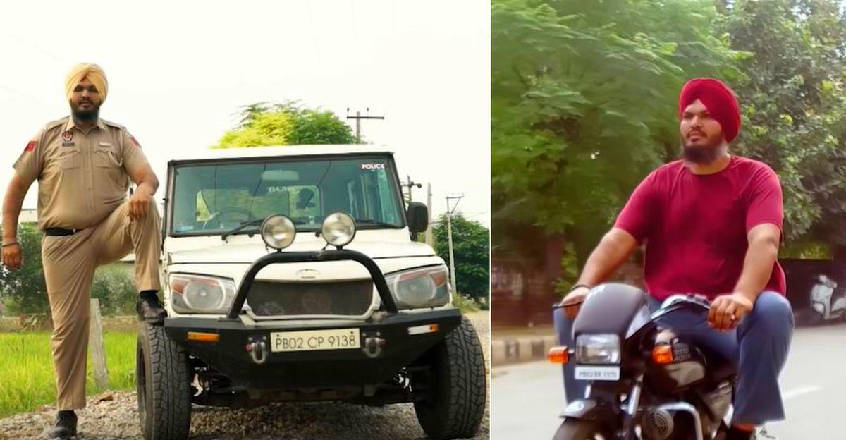 Mahindra Bolero भारत के सबसे लंबे पुलिस वाले के लिए