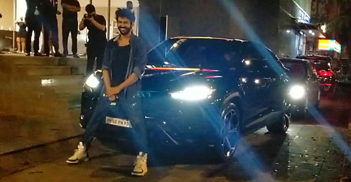 Kartik Aaryan की नवीनतम सवारी 3 करोड़ रुपये की Lamborghini Urus Super SUV है