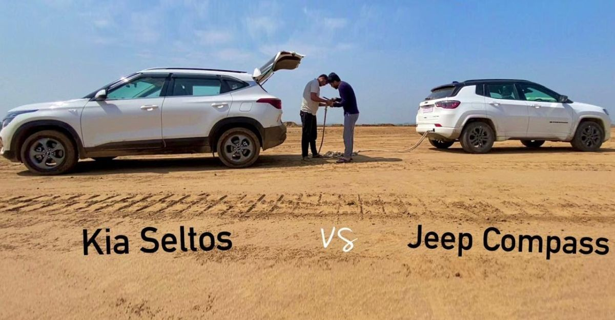 2021 Jeep Compass डीजल बनाम Kia Seltos डीजल एक क्लासिक युद्ध में