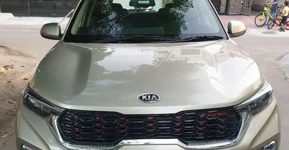 बिक्री के लिए लगभग-नई Kia Sonet कॉम्पैक्ट एसयूवी