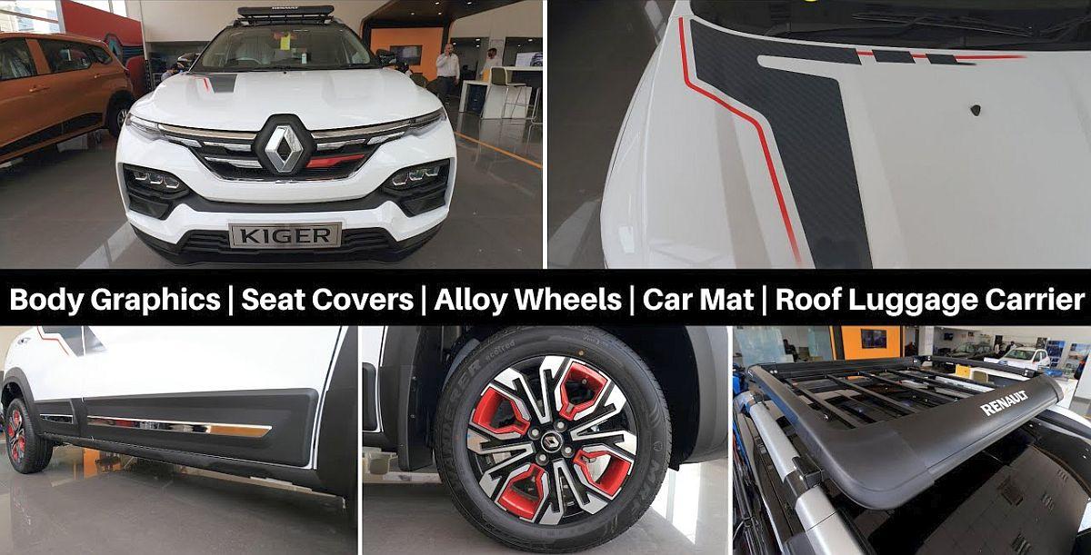 Renault Kiger कॉम्पैक्ट SUV को असली सामान के साथ फिट किया गया है: ऑफर में क्या है
