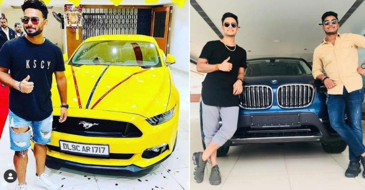 युवा भारतीय क्रिकेटर और उनकी नवीनतम कारें: Rishabh Pant की Ford Mustang से Mohd. Siraj की BMW