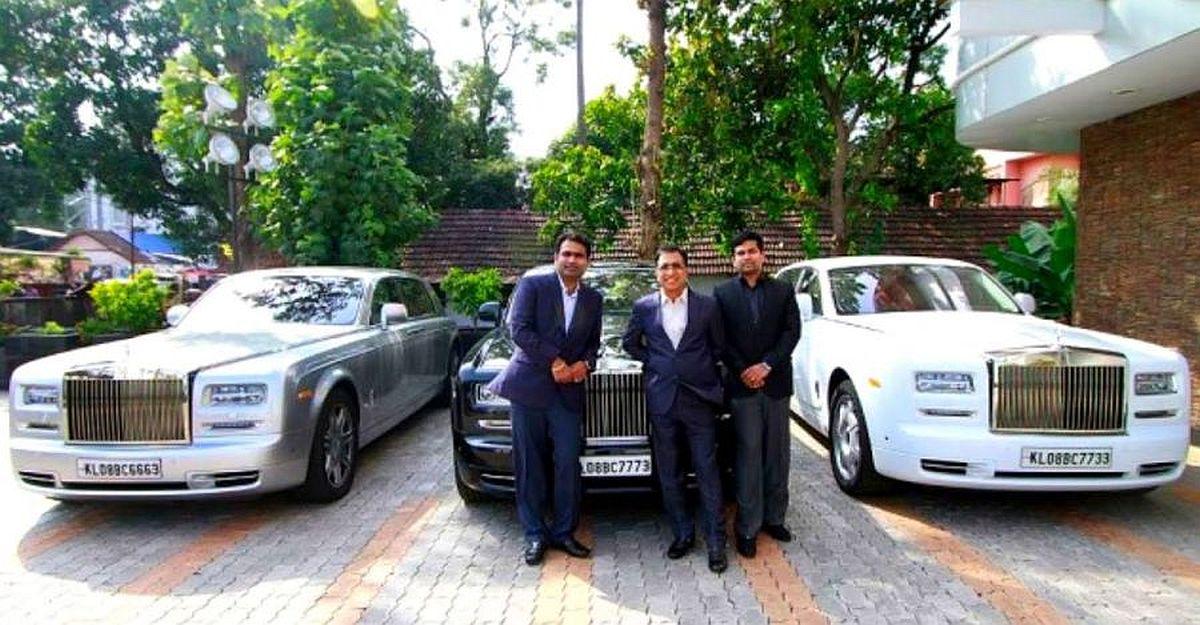 यह भारतीय व्यापारी 3 अलग-अलग रंगों में 3 Rolls Royce, एक हेलीकाप्टर और एक निजी जेट के मालिक है
