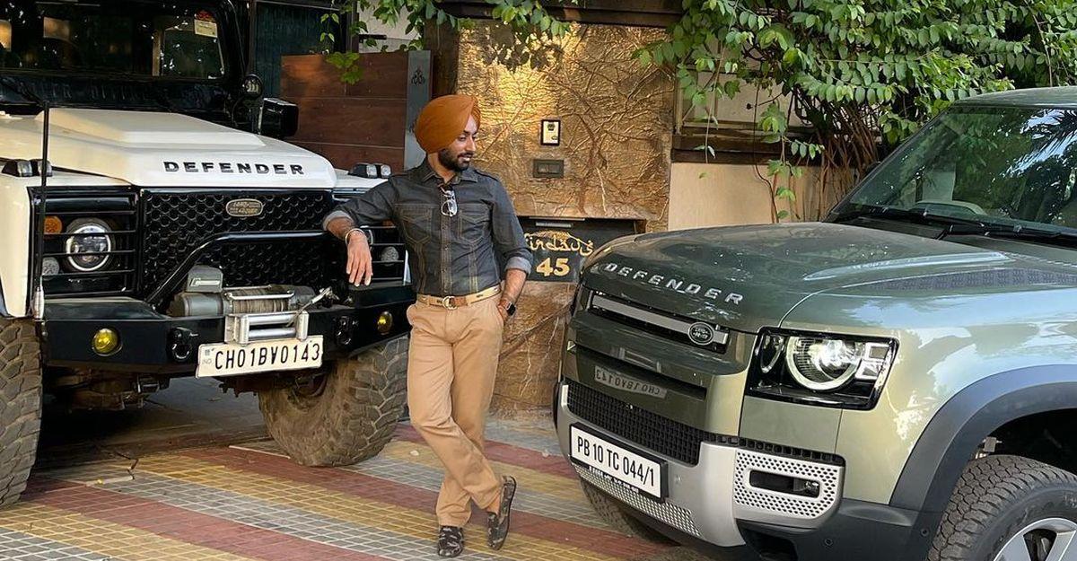 पंजाबी सिंगर सरताज सिंह ने All new Land Rover Defender ख़रीदा, पुराना Defender भी हैं