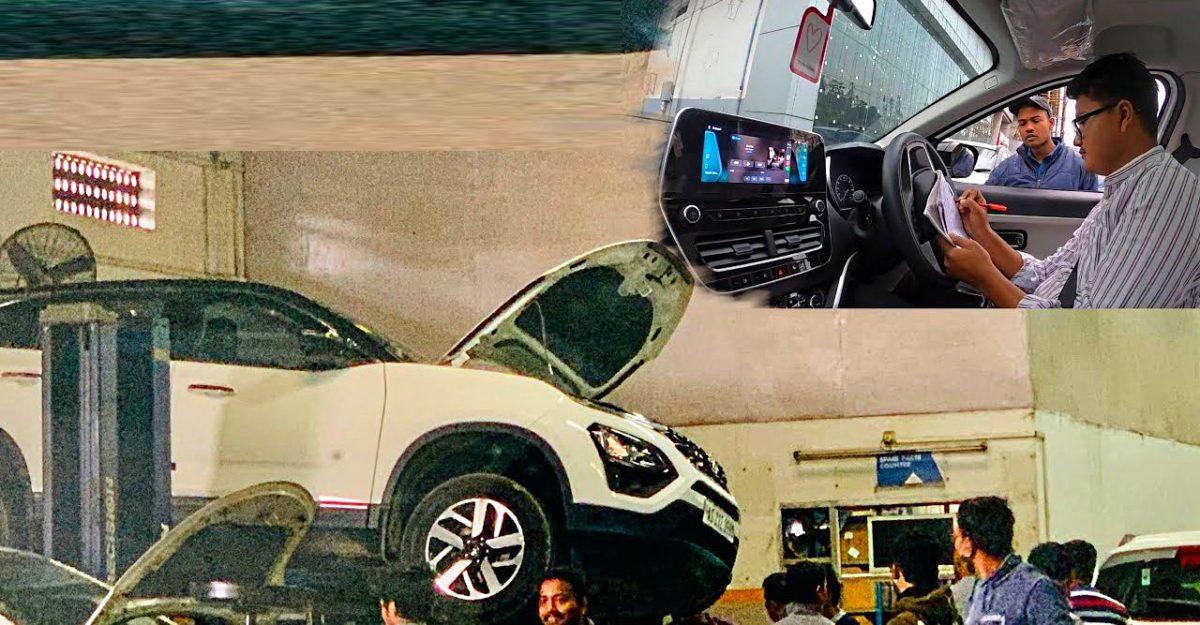 Tata Motors द्वारा तकनीशियन को समस्या ठीक करने के लिए भेजे जाने के बाद न्यू Safari के मालिक Happy Video पोस्ट किया
