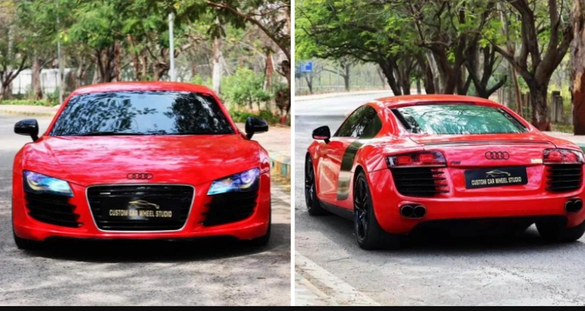 Audi R8 सुपरकार Fortuner की कीमत पर!