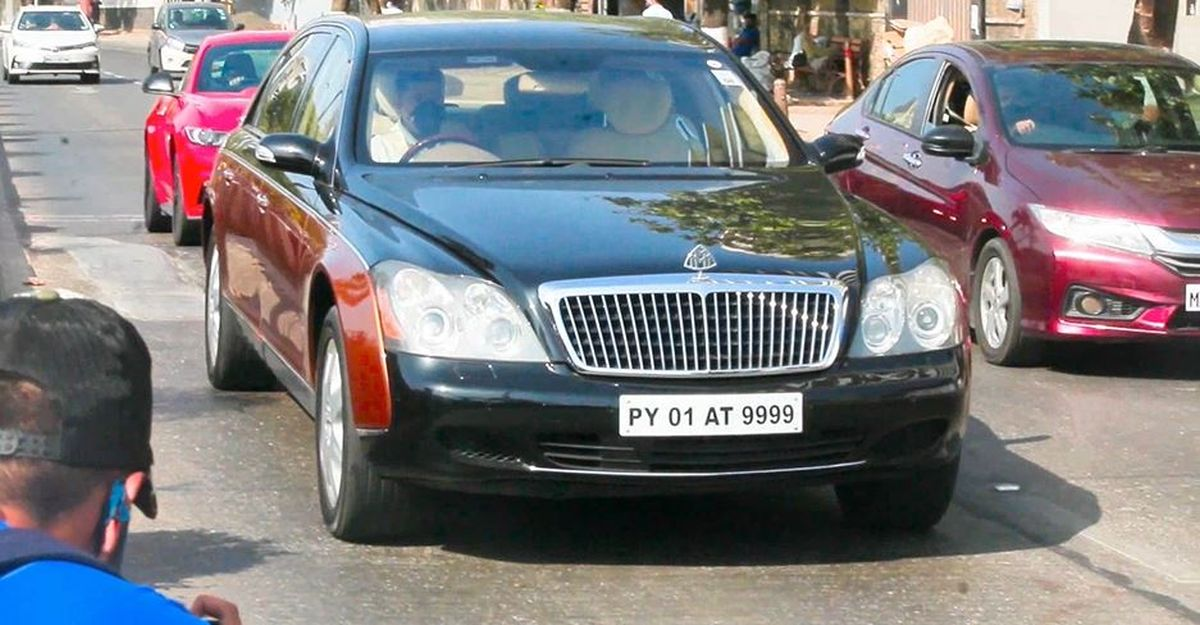 Vijay Mallya से संबंध रखने वाले Maybach मुंबई की सड़कों पर मंडराते दिखे