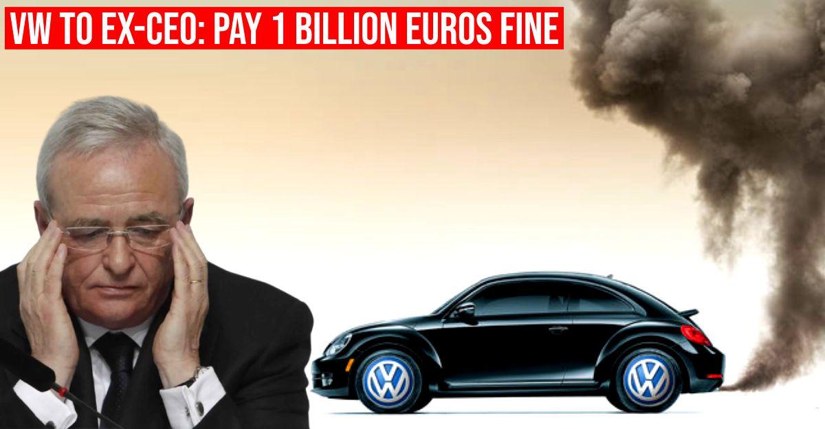 Volkswagen ने डीज़लगेट घोटाले पर ex-VW और Audi के CEO से 1 बिलियन यूरो की मांग की