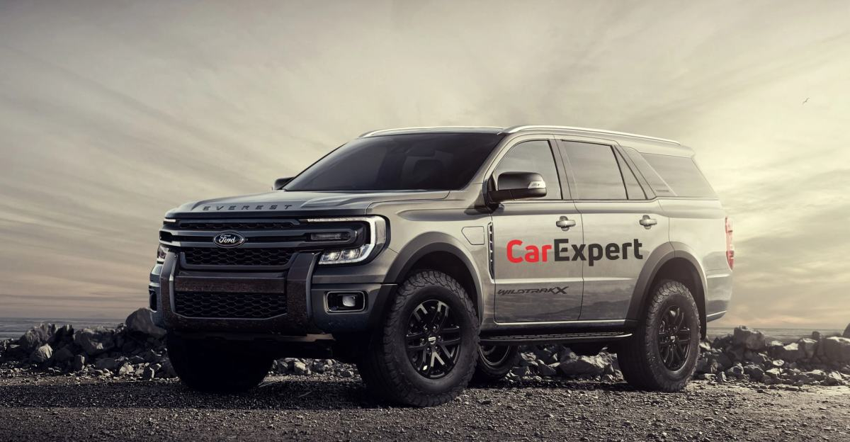 बिलकुल नई 2022 Ford Endeavour: Toyota Fortuner प्रतिद्वंद्वी के पहले देखे गए शॉट्स