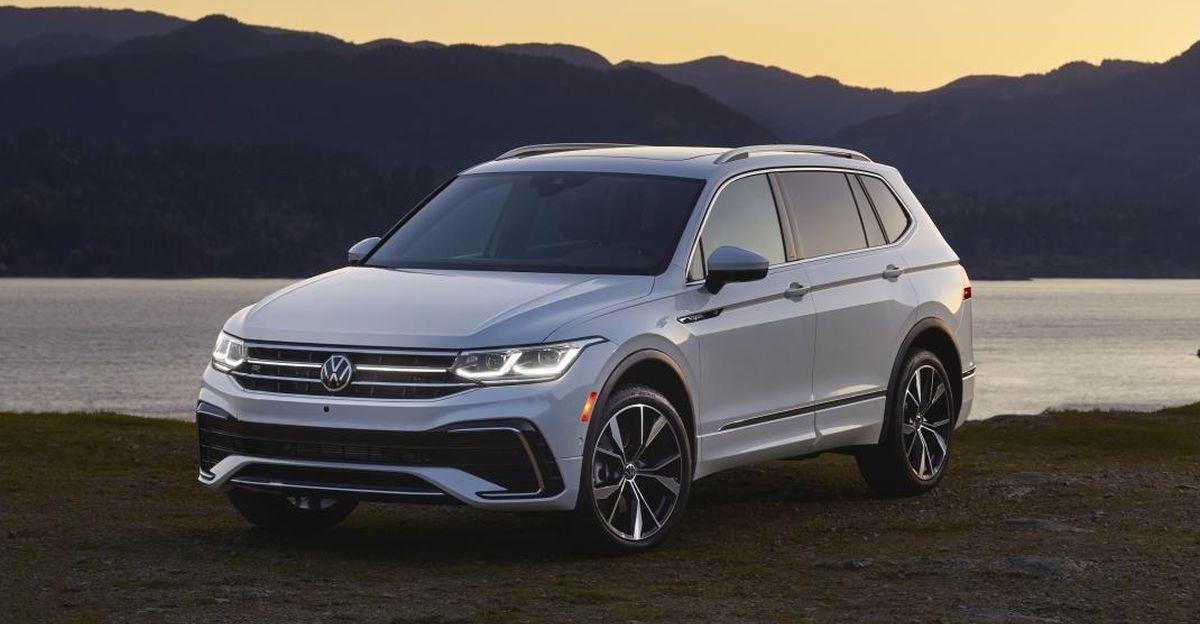 Volkswagen ने 2022 Tiguan AllSpace SUV का अनावरण किया