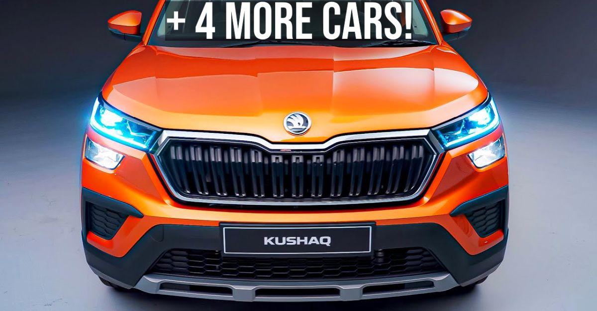 भारत में जल्द लॉन्च होने वाली 5 कारें: Hyundai Alcazar से Skoda Kushaq