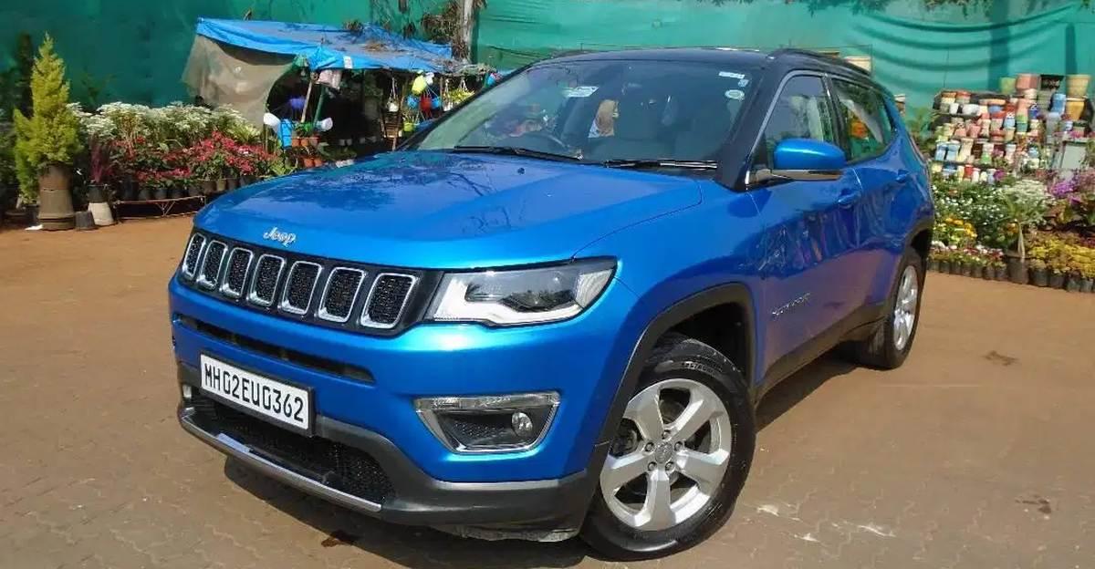 Hyundai Creta की तुलना में सस्ते में बिकने वाली Used Jeep Compass Automatic SUV
