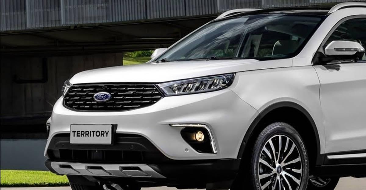 Ford की Hyundai Creta की दावेदार Territory SUV पर आधारित है