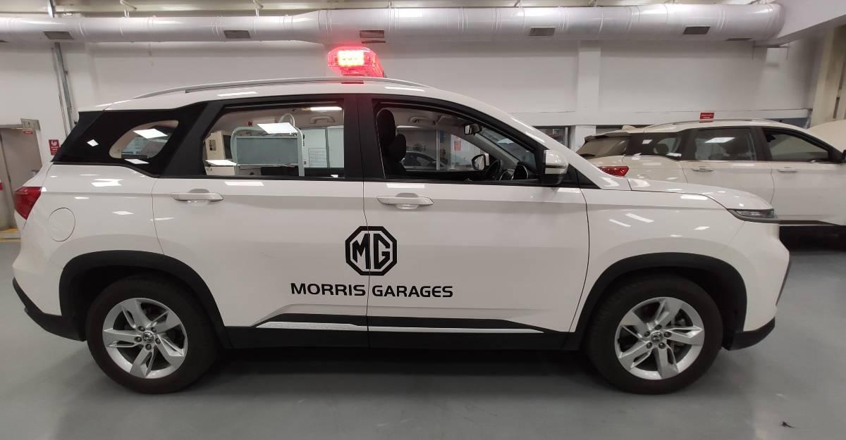 Nitin Gadkari के अनुरोध के बाद MG Motors तैनात करेगी 100 एंबुलेंस