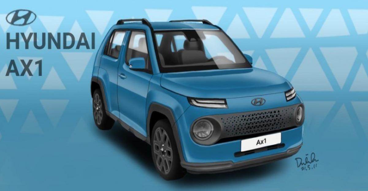 Hyundai AX1 माइक्रो SUV लॉन्च से पहले फिर जासूसी: Maruti S-Presso चैलेंजर
