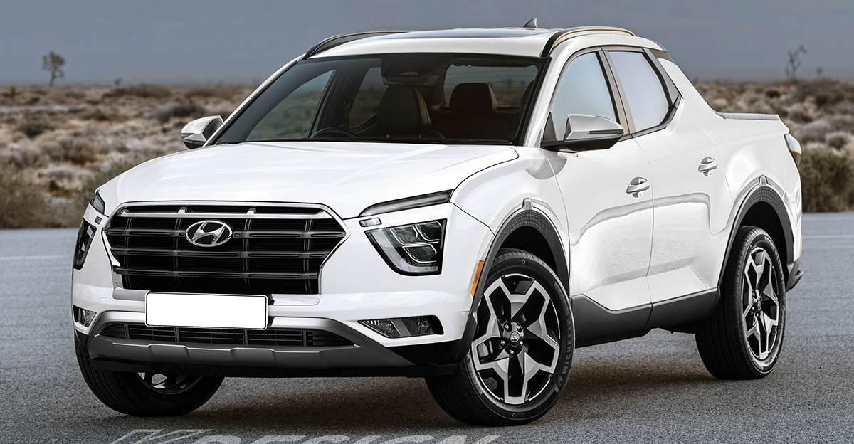 नई Hyundai Creta की कल्पना एक Pick-Up Truck के रूप में