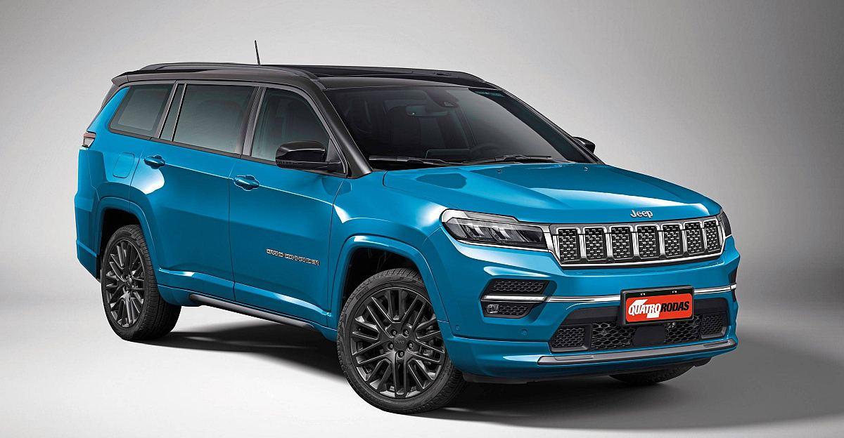 Jeep की 7 सीटर Fortuner की प्रतिद्वंदी: यह कैसी दिखेगी?