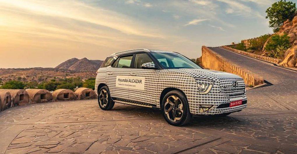 आगामी Hyundai Alcazar SUV: नया विवरण और टीज़र निकला