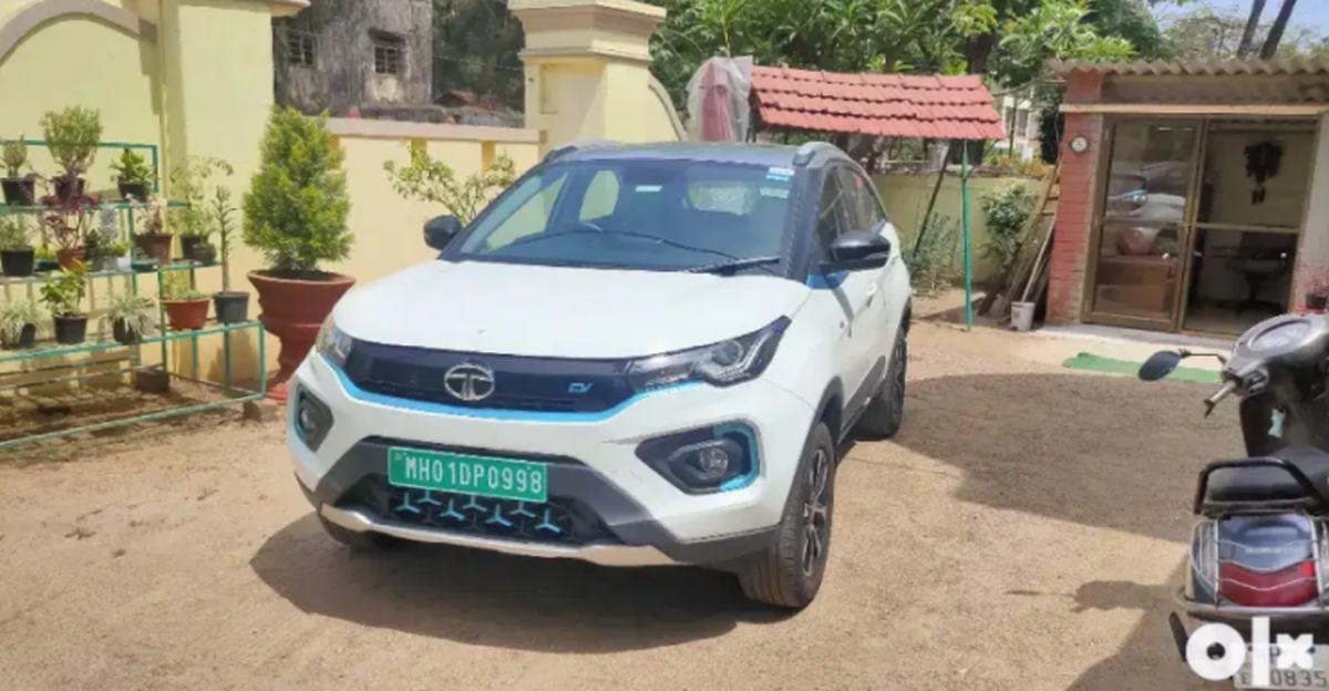 लगभग नई Tata Nexon इलेक्ट्रिक SUVs बिक्री के लिए