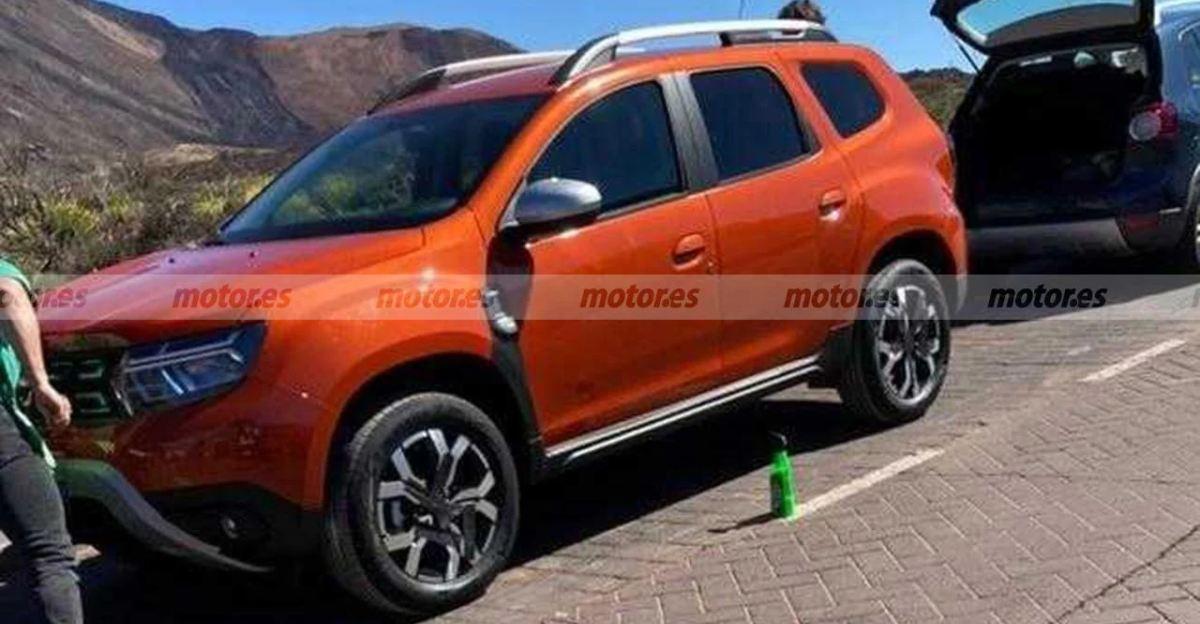 Renault Duster 7-सीटर को TVC शूट के दौरान देखा गया