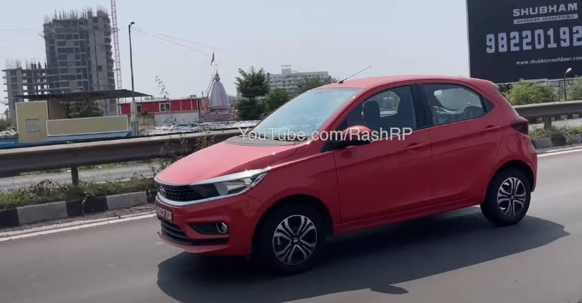 Tata Tiago CNG को आधिकारिक लॉन्च से पहले देखा गया; Maruti Suzuki WagonR के साथ लड़ने के लिए