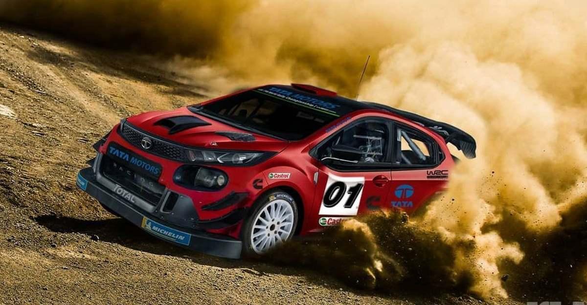 Tata Altroz WRC Rally Car के रूप में कल्पना की गई