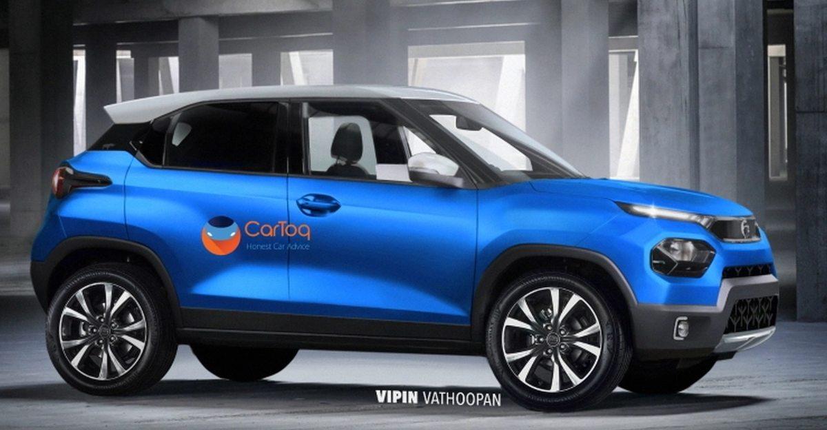 Tata Hornbill HBX माइक्रो SUV का प्रोडक्शन वर्जन लॉन्च से पहले देखा गया