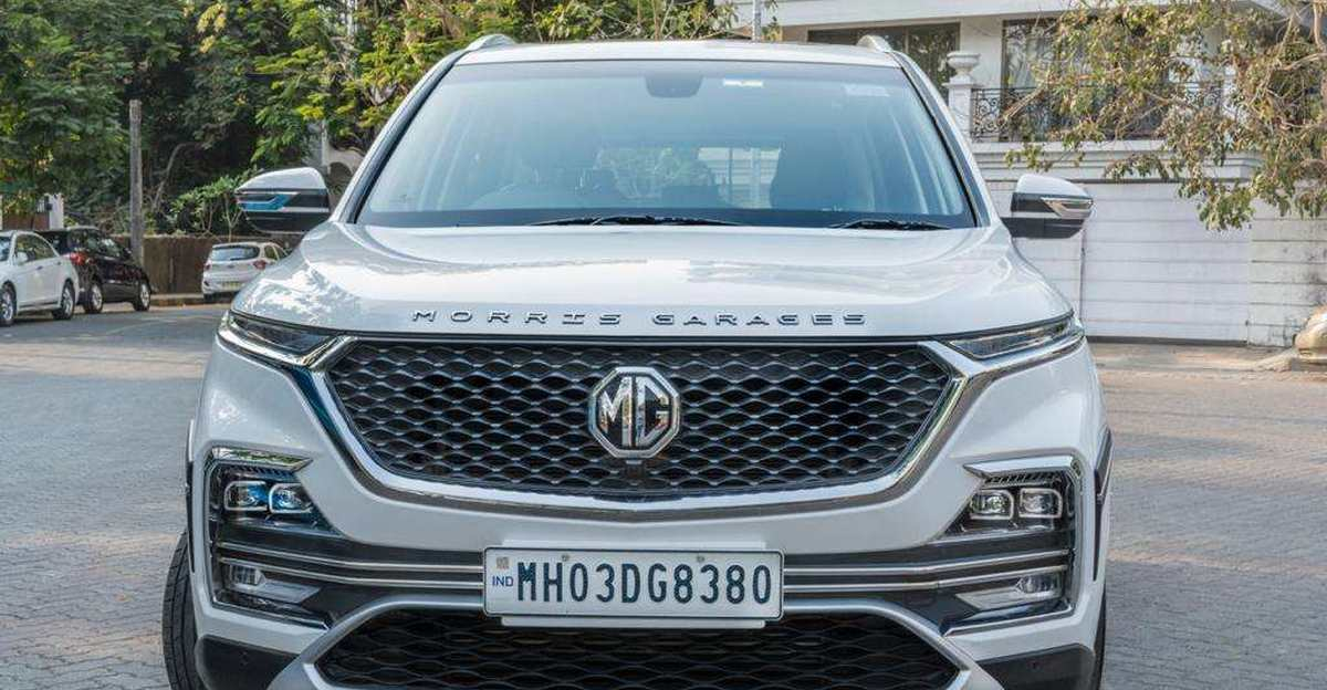 Almost-new used MG Hector SUVs बिक्री के लिए