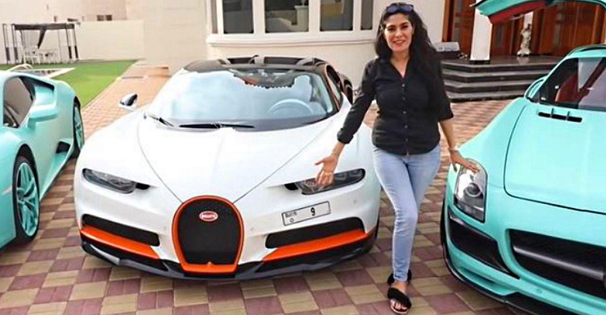52 करोड़ रुपये का नंबर प्लेट 25 करोड़ के Bugatti Chiron पर