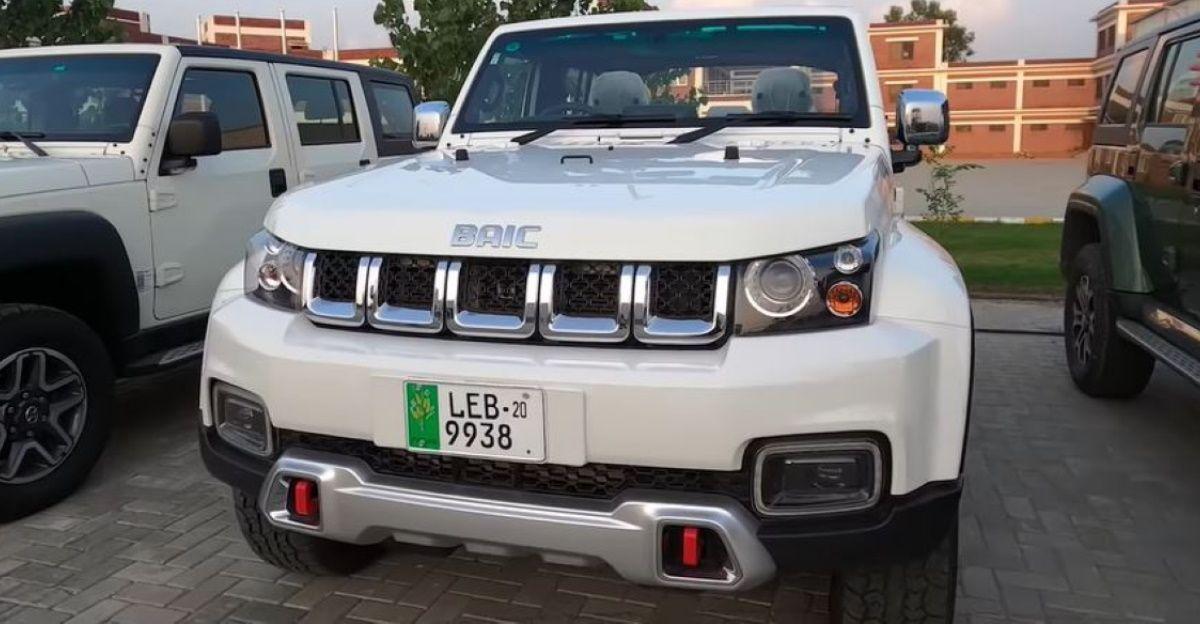 पाकिस्तान में बेची जाने वाली Chinese Jeep Mahindra Thar और  Bolero का मिश्रण है