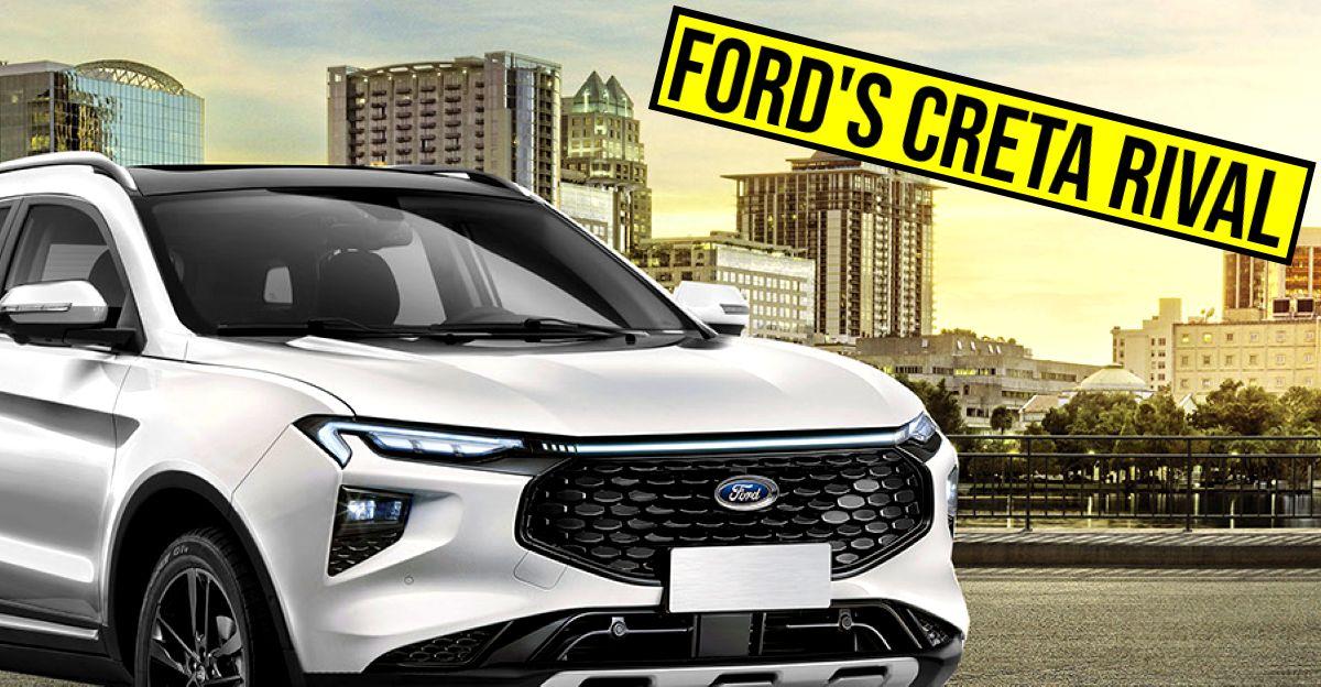 Ford C-SUV जो Tata Harrier & Hyundai Creta को टक्कर देगी: यह कैसी दिखेगी