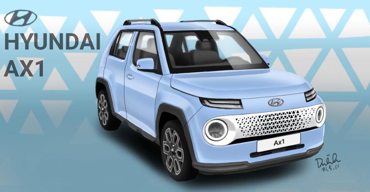 Hyundai AX1 माइक्रो एसयूवी: Maruti S-Presso की प्रतिद्वंद्वी कैसी दिखेगी