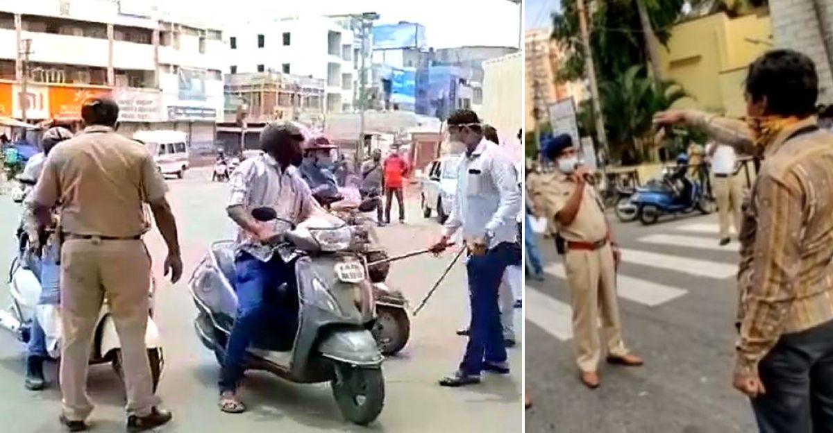 पुलिस ने 2,200 से अधिक वाहनों को जब्त किया, ताकि मोटर चालक लॉकडाउन नियमों का उल्लंघन न करने का संकल्प लें