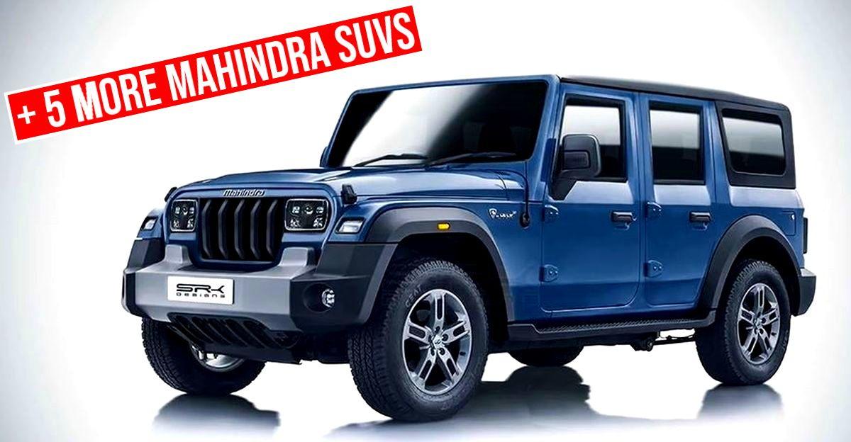 भारत के लिए 6 नई Mahindra SUV की पुष्टि: 5 दरवाजे वाले Thar से लेकर अगली पीढ़ी की Bolero तक
