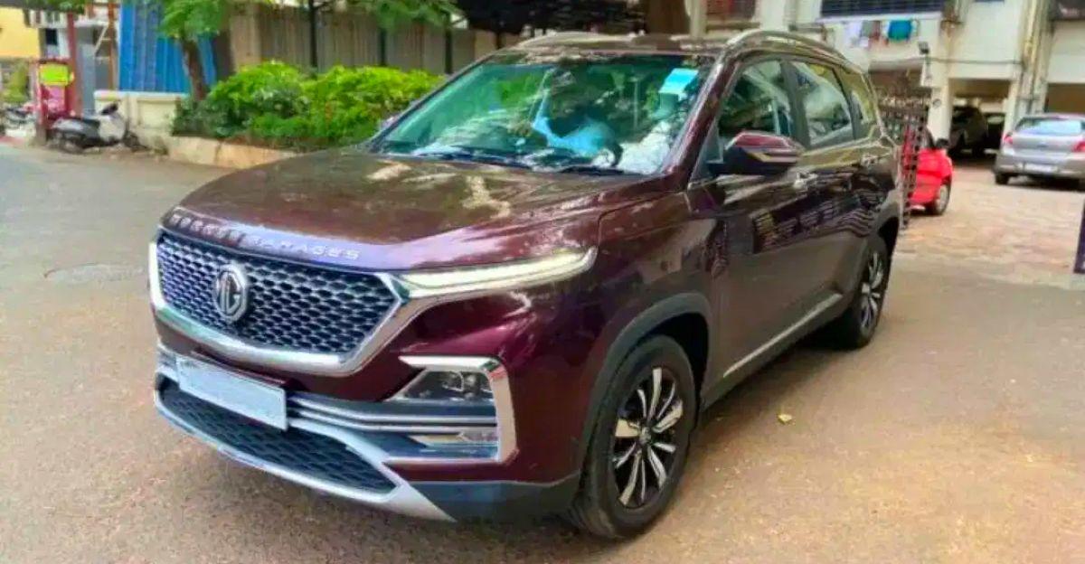 लगभग नई Used MG Hector SUVs बिक्री के लिए
