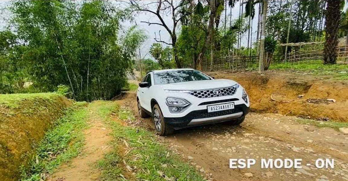New Tata Safari मालिक ने खड़ी चढ़ाई के लिए ESP बंद किया