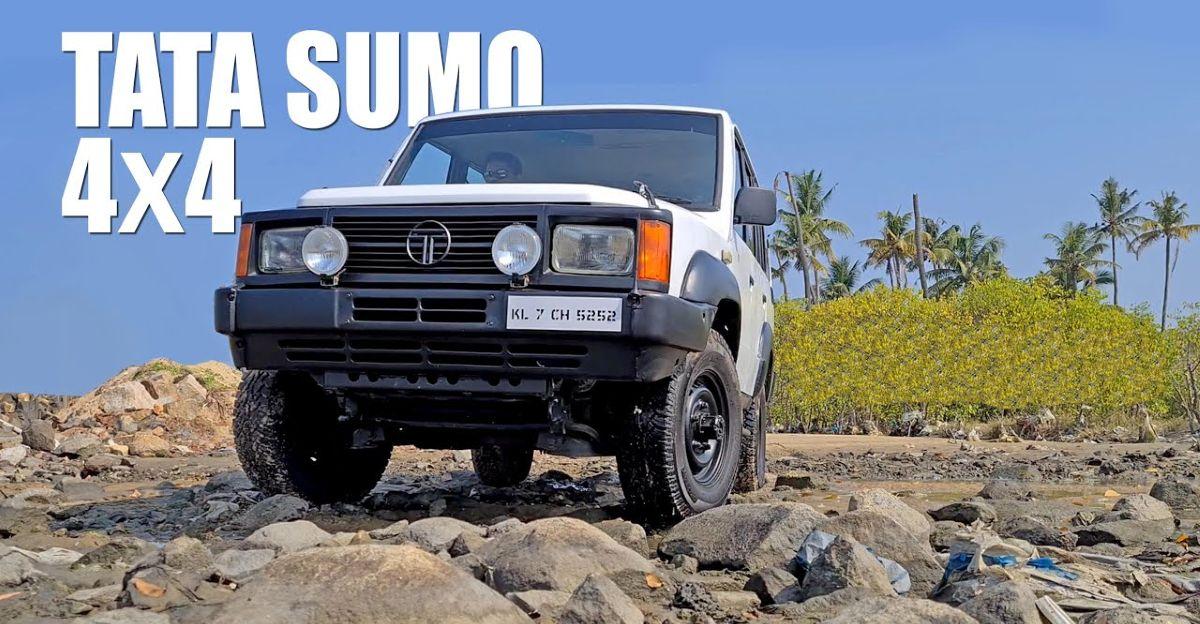 नायाब Tata Sumo 4X4 वीडियो में अंदर-बाहर से दिखाया गया है