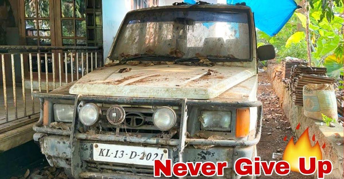 1997 मॉडल Tata Sumo MUV को 12 साल बाद चालू किया गया
