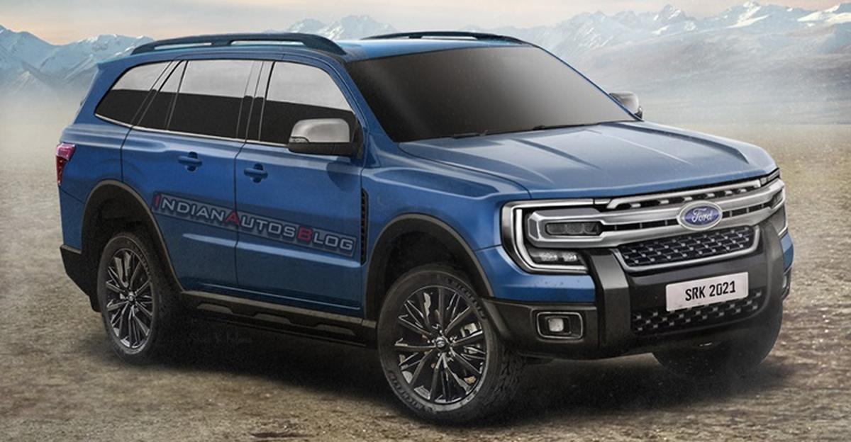 2022 Ford Endeavour: Toyota Fortuner चैलेंजर कैसा दिख सकता है