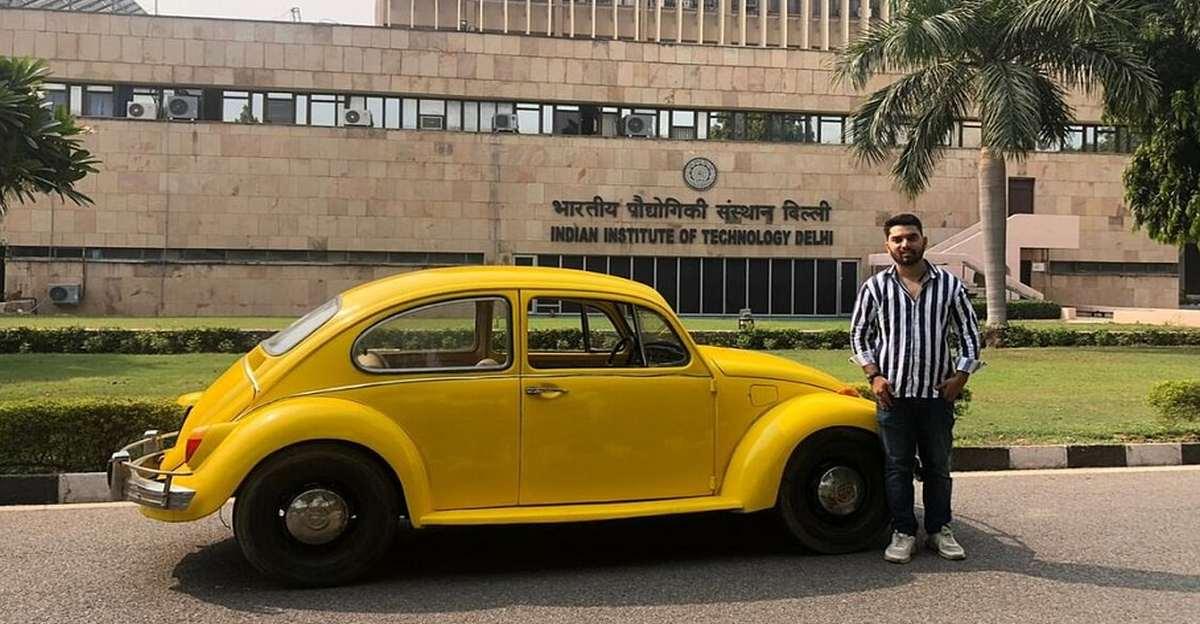 जम्मू के 23 वर्षीय इंजीनियर ने विंटेज कारों को इलेक्ट्रिक वाहनों में बदला
