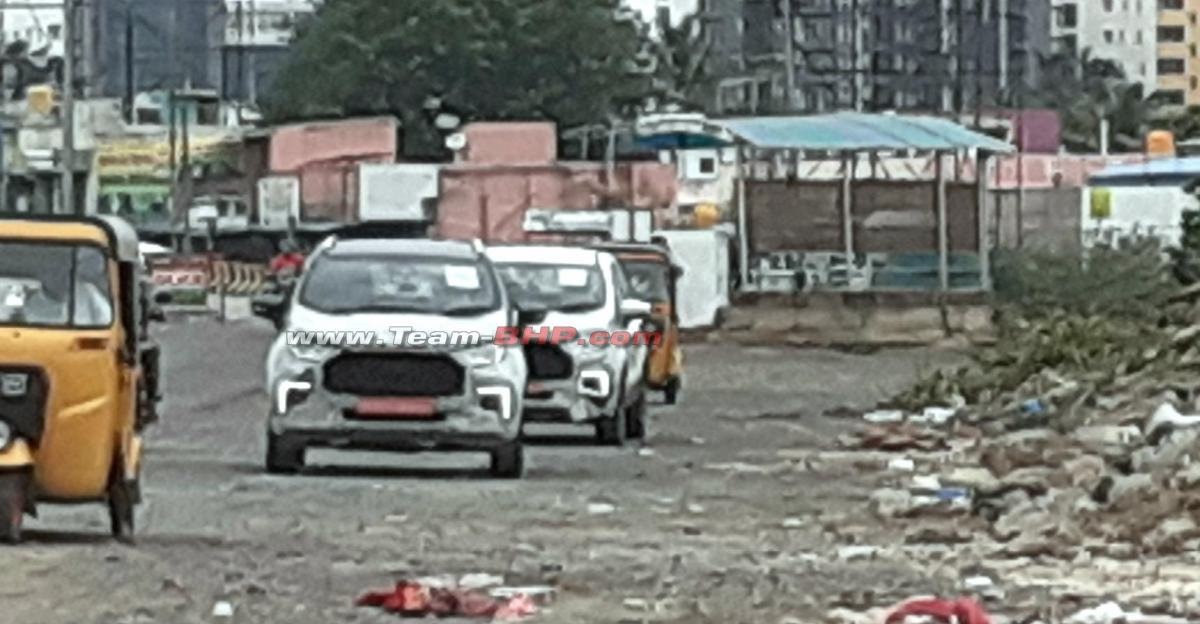 Ford ने भारत में Ecosport Facelift का परीक्षण शुरू किया