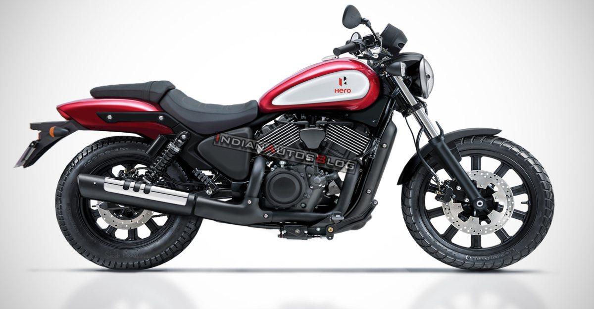 Hero और Harley Davidson की आने वाली  Twin Cylinder Motorcycle: यह कैसी दिखेगी