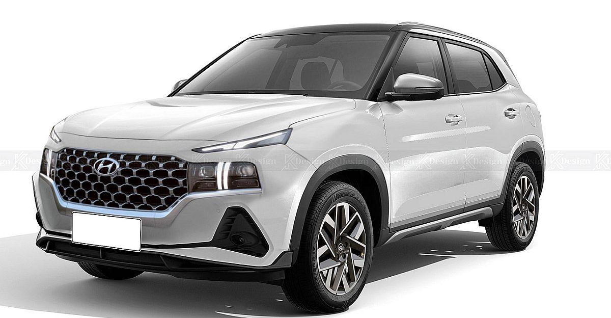 Faceifted Hyundai Creta: यह कैसी दिख सकती है