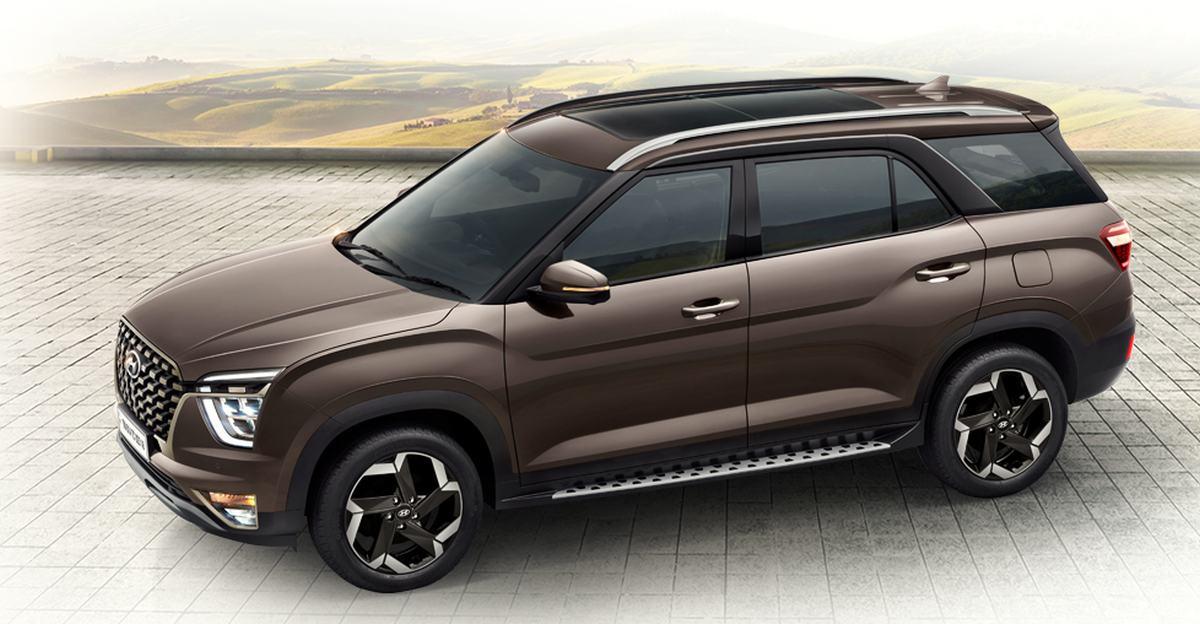 Hyundai Alcazar का ब्रोशर लॉन्च से पहले लीक