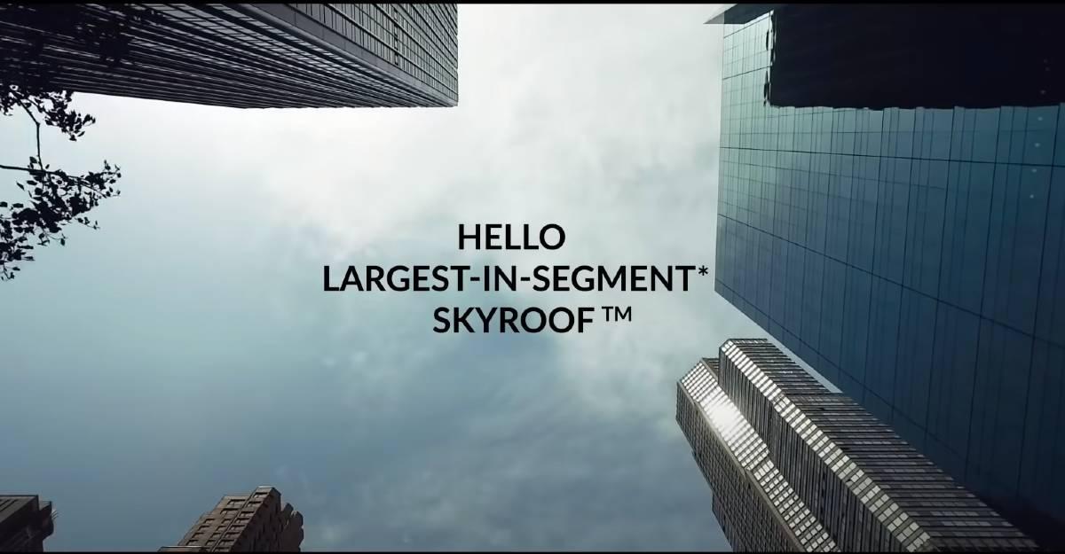 Mahindra XUV700 को मिलेगा सबसे बड़ा panoramic सनरूफ: नया टीज़र आउट