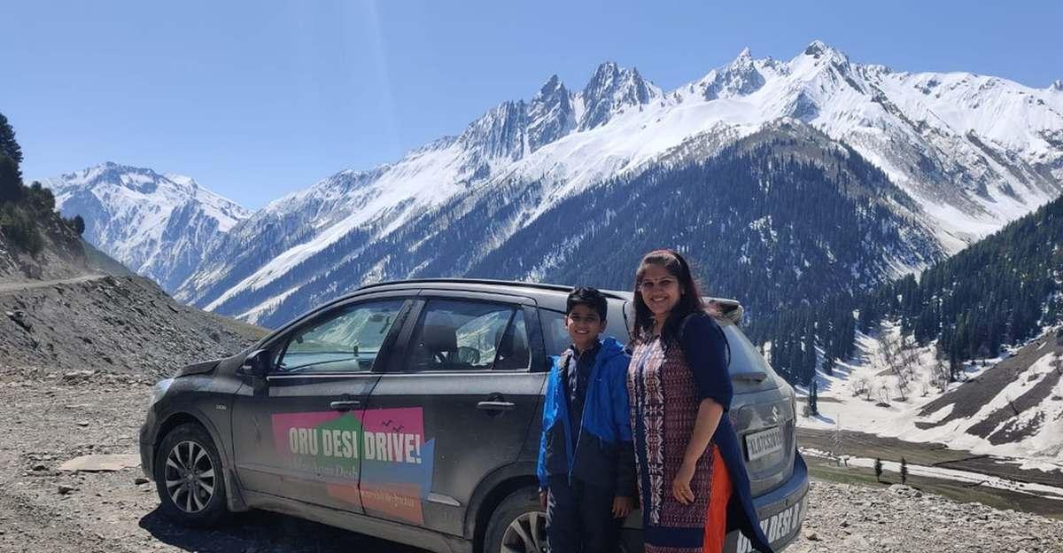 मां-बेटे की जोड़ी ने Maruti Suzuki S-Cross में 16,800 किलोमीटर की दूरी तय करते हुए 28 राज्यों की यात्रा की