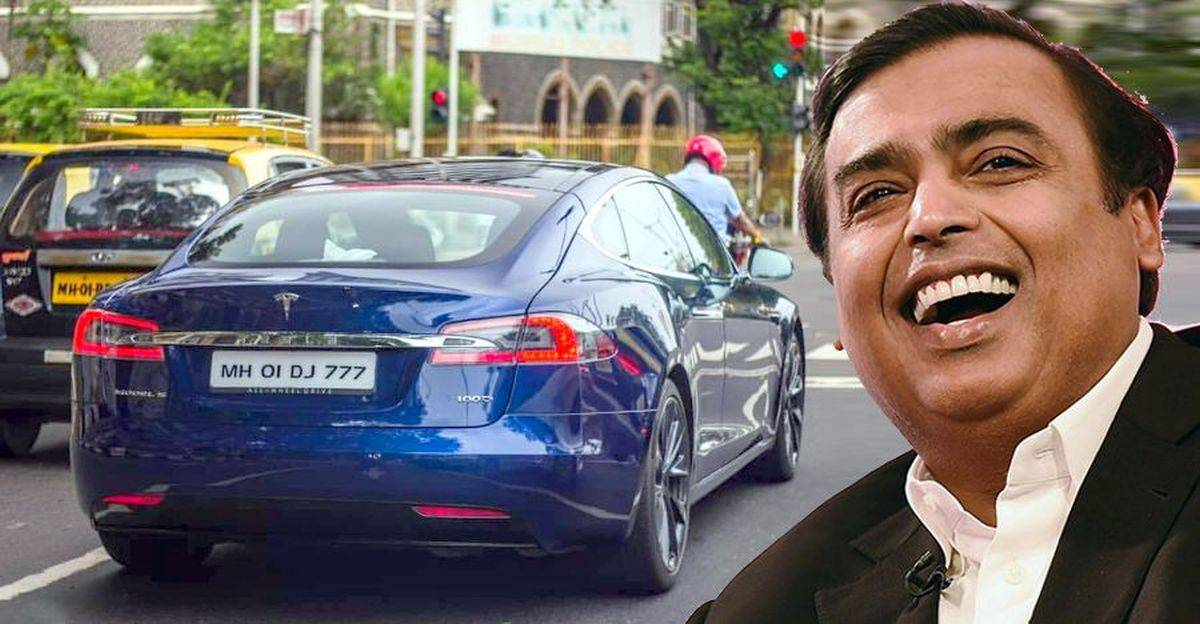 Ambani परिवार की Tesla Model S 100D: नई तस्वीरें और वीडियो